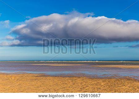 Sotavento Beach During Summer Day - Fuerteventura Canary Islands Spain