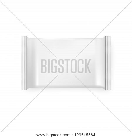 Pack of wet wipes on a white background. Pack of wet wipes icon vector, isolated vector pack of wet wipes, pack of wet wipes image, pack of wet wipes template, pack of wet wipes  design. Vector EPS10 illustration. poster