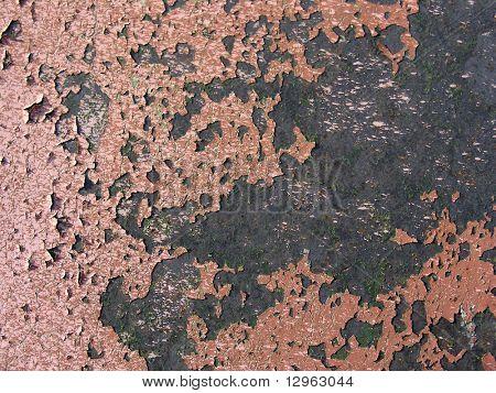 old metall wall