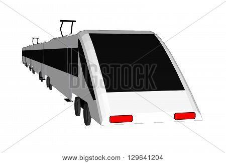 Vector  subway train isolated, subway train flat, subway train 3d, subway train transport, subway