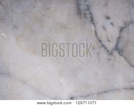 White light marble stone texture background old