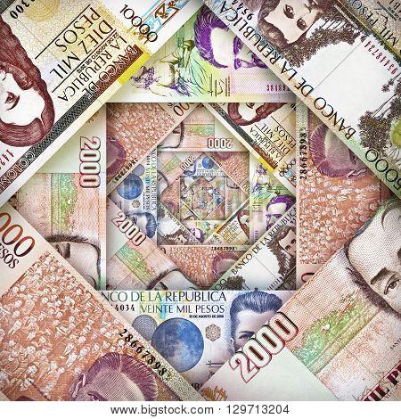 Peso Bill Background