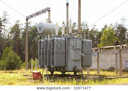 The High-voltage Transformer