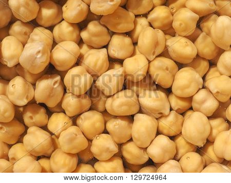 Chickpeas Beans Vegetables