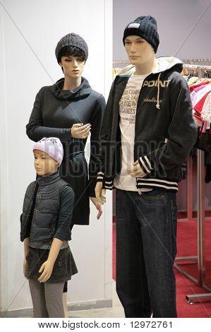 mannequin family