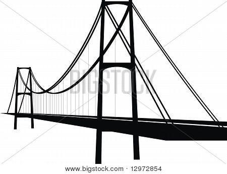 Suspension cable bridge