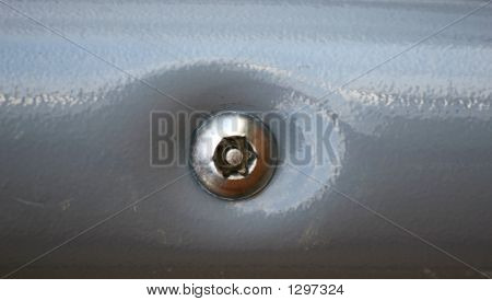 Playground Tamper-Proof Screw To Hold Structure Safely Together