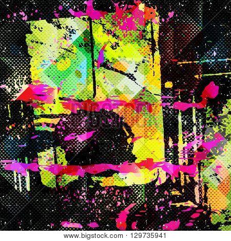 Beautiful spot graffiti vector illustration abstract high quality