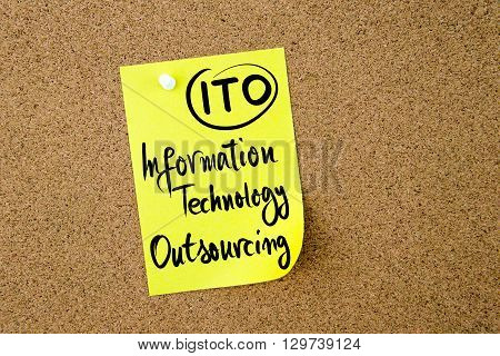 Business Acronym Ito Information Technology Outsourcing