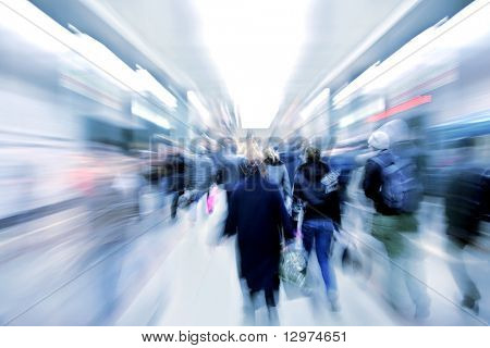 Resumen zoom pasajeros en el metro