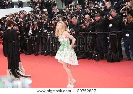 Melanie Thierry attends 'The BFG' premier during the 69th Annual Cannes Film Festival on May 14, 2016 in Cannes.