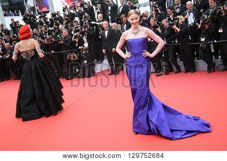 Svetlana Khodchenkova attends 'The BFG' premier during the 69th Annual Cannes Film Festival on May 14, 2016 in Cannes.