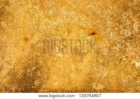 wall of orange sandstone for background or texture