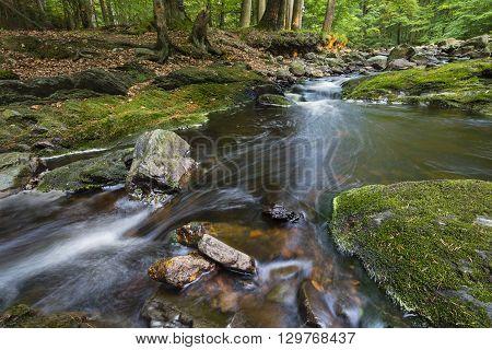 Green Mountain Stream Long Exposure