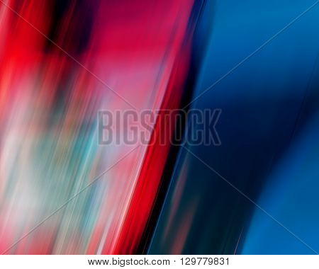abstract background colorful lines and spots red blue