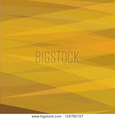 Simple orange color pixels background - Illustration