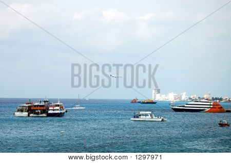 Transportation In And Over The Bay