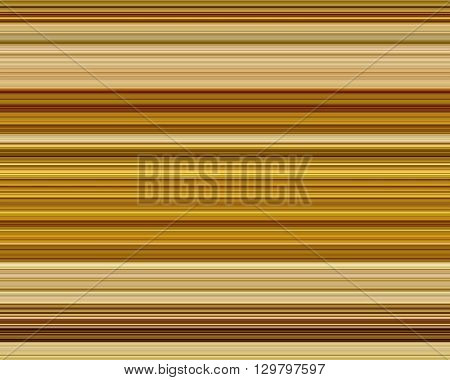 Fine line brown horizontal stripe pattern