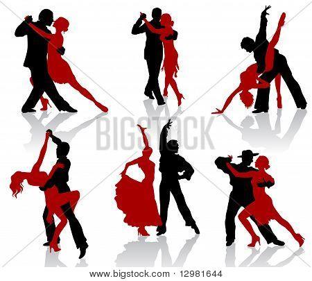 Танго силуэты