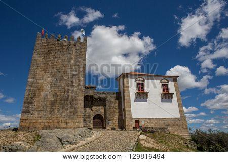 Belmonte castle. Historic village of Portugal, near Covilha