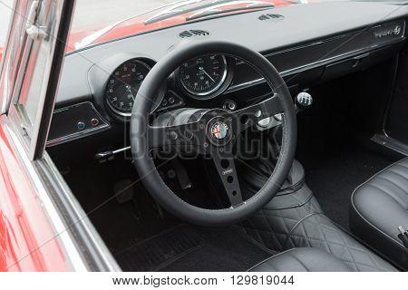 Vintage Alfa Romeo Interior