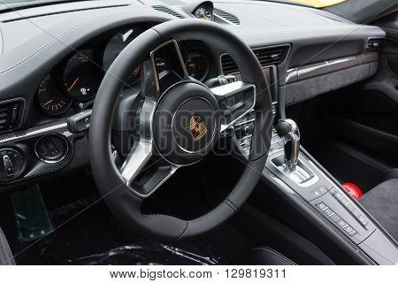 Porsche Interior On Display