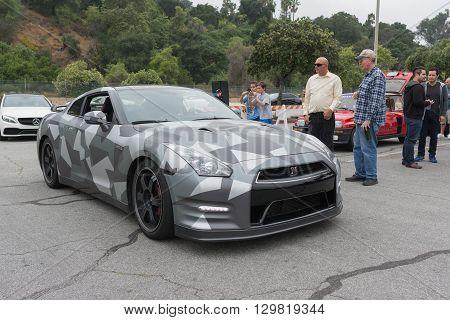 Nissan Gt-r On Display