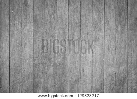 Wooden texture background with black and white tone, stock photo