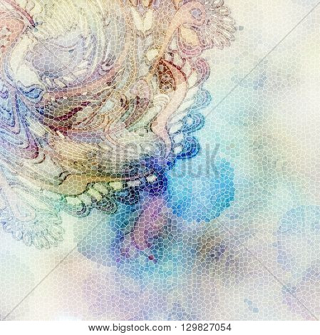 pale pastel abstract motley web design backgrounnd