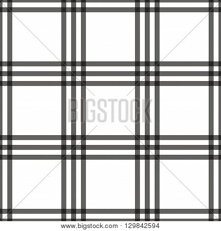 Tartan seamless pattern. Checkered geometric texture plaid. Fashion traditional scottish design. Classic british template wallpaper wrapping fabric or textile material flannel. Vector Illustration