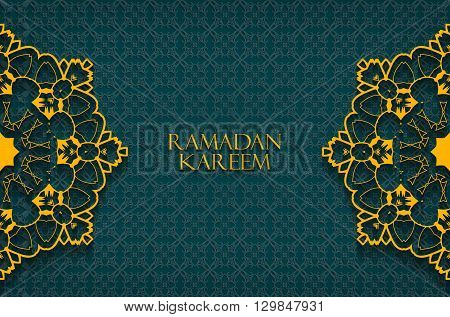 Ramadan Greetings Background