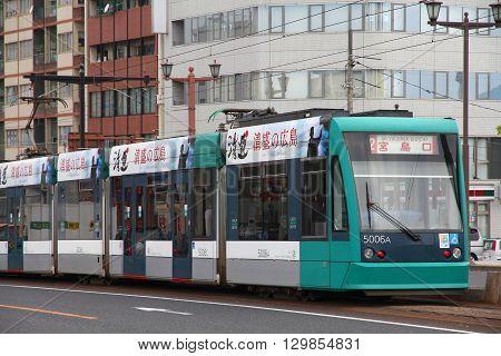 Tram In Japan