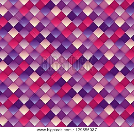 Image blocks on a colored background . illustrations .