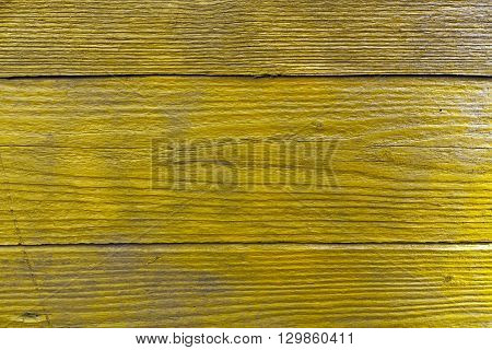 Orange Grungy Wooden Wall Texture.