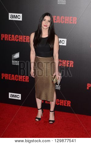 LOS ANGELES - MAY 14:  Kiira Arai at the Preacher Premiere Screening at the Regal 14 Theaters on May 14, 2016 in Los Angeles, CA