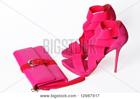 Fashionable Pink Shoes