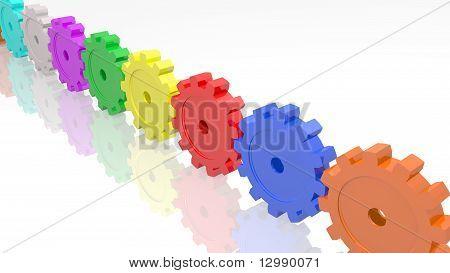 Color Gears