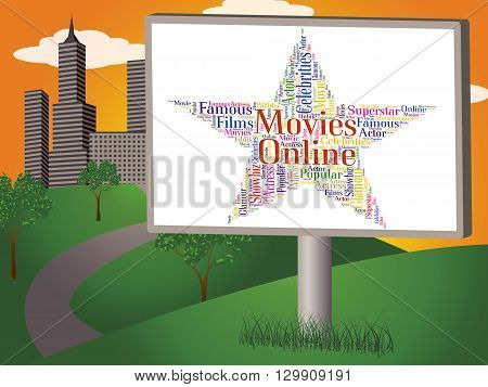Movies Online Means World Wide Web And Cinema