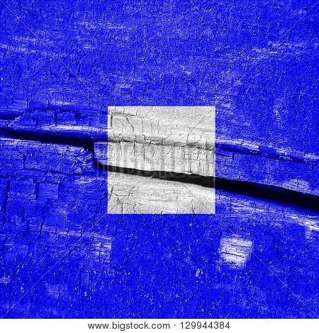 Papa maritime signal flag