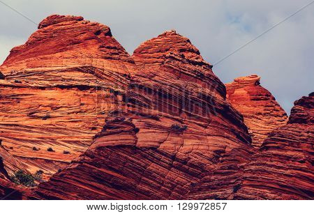 Coyote Buttes of the Vermillion Cliffs Wilderness Area, Utah and Arizona