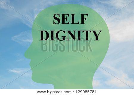 Self Dignity Mental Concept