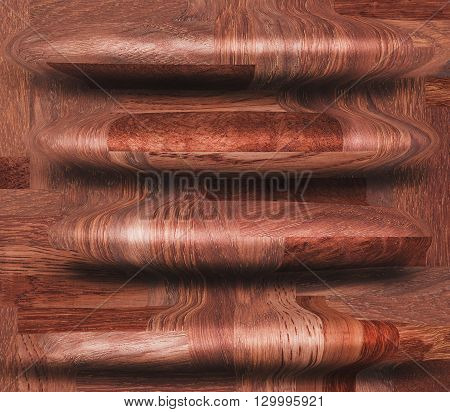 Wooden decorative seamless pattern. Abstract wood background