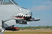 "heavy jet gunship known as ""warthog"" or ""thunderbolt"" poster"