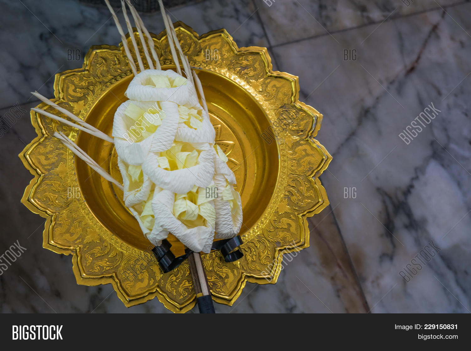 Artificial Funeral Image Photo Free Trial Bigstock