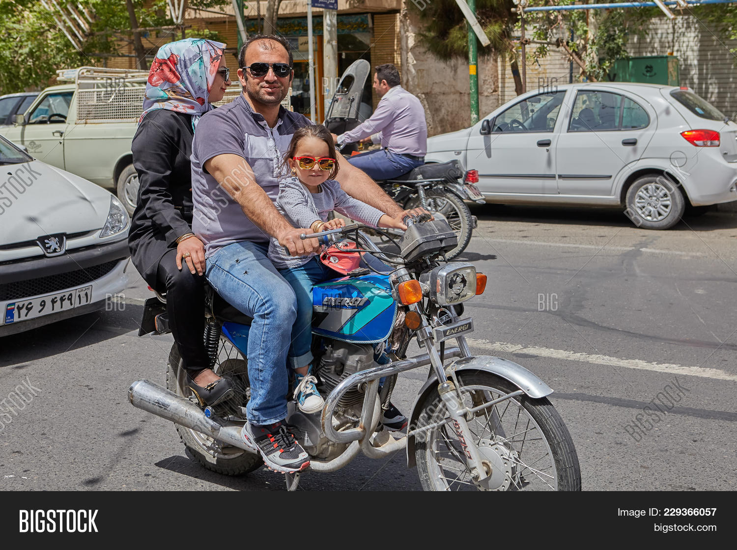Mature man rides his wife
