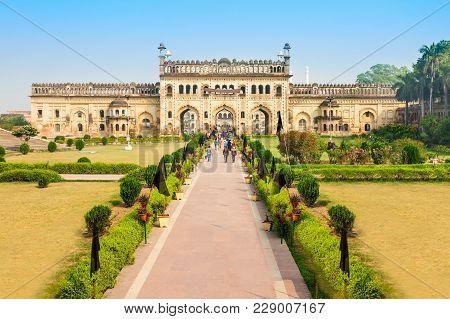 Bara Imambara Is An Imambara Complex In Lucknow, Uttar Pradesh In India