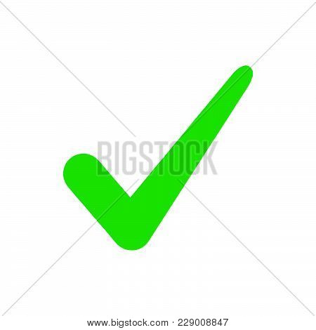 Check Icon Isolated On White Background. Check Icon Modern Symbol For Graphic And Web Design. Check