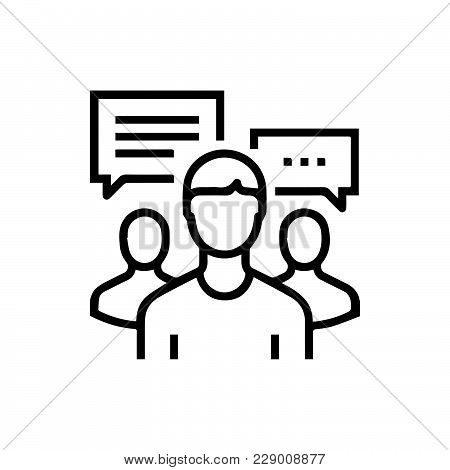 Group People Icon Isolated On White Background. Group People Icon Modern Symbol For Graphic And Web