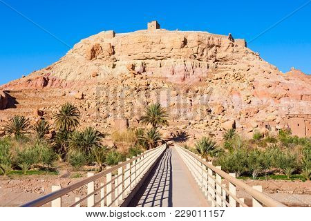 Ait Ben Haddou Or Ait Benhaddou Is A Fortified City Near Ouarzazate In Morocco. Ait Ben Haddou Is A