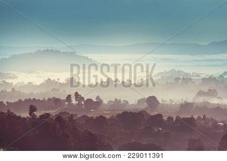 Amazing mountains landscape in Guatemala